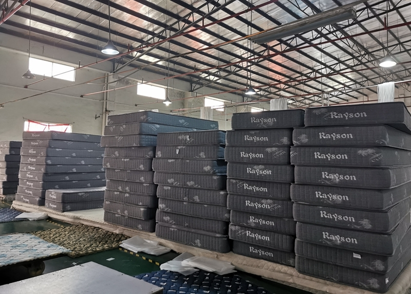 Premium quilted Rayson mattress logo available for mattress