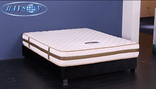 Very comfortable spring mattress for home furnishings