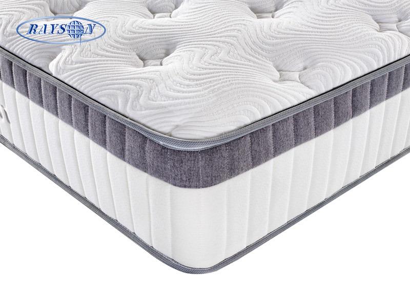10 Inch Memory Foam Pocket Spring Mattress In Box