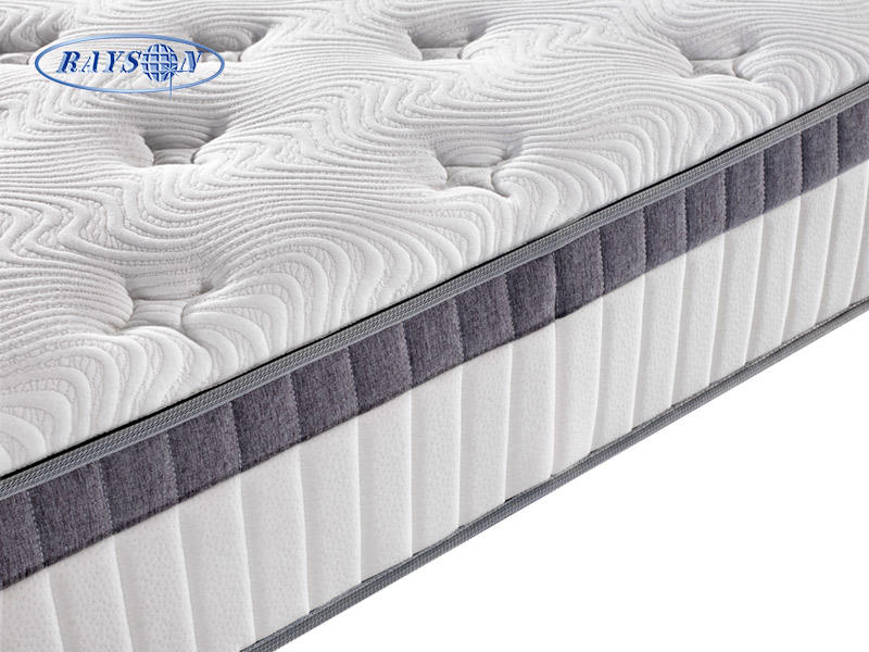 10 Inch Memory Foam Pocket Spring Mattress In Box