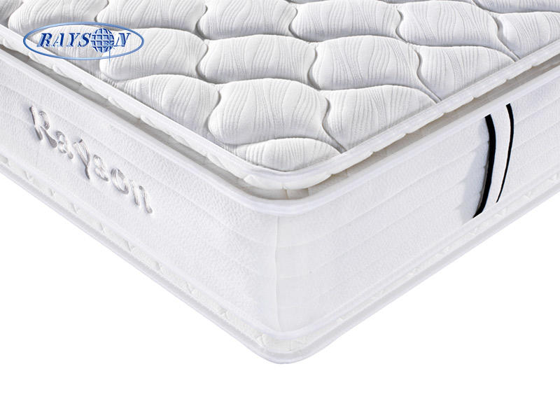 White bedroom furniture queen size hotel home mattress