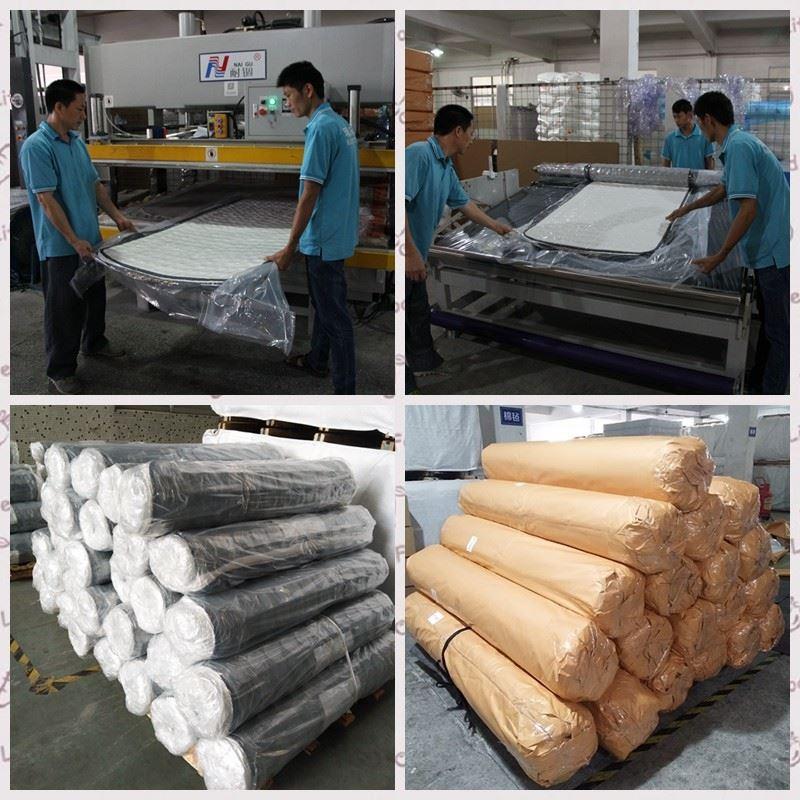 Roll mattress packing with kraft paper.jpg