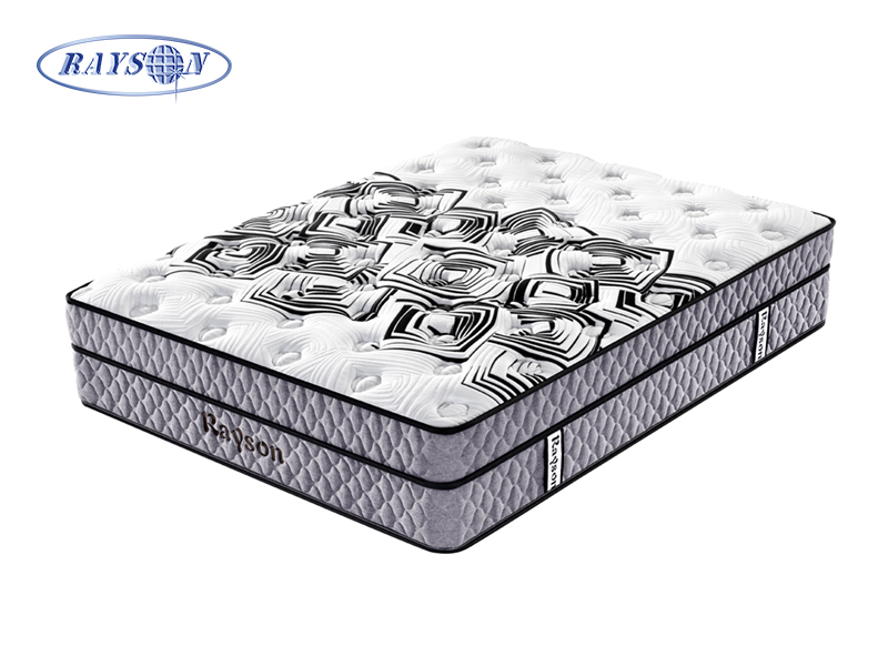 Euro Top Queen Size Bonnell Spring Mattress With Two Spring Layer
