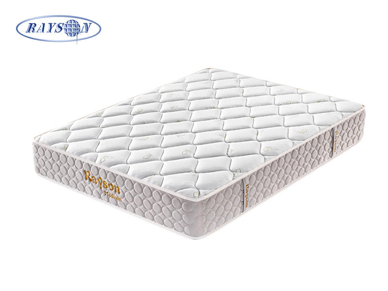 OEM Tight Top Latex Foam Pocket Spring Hybrid Mattress Double Side Use