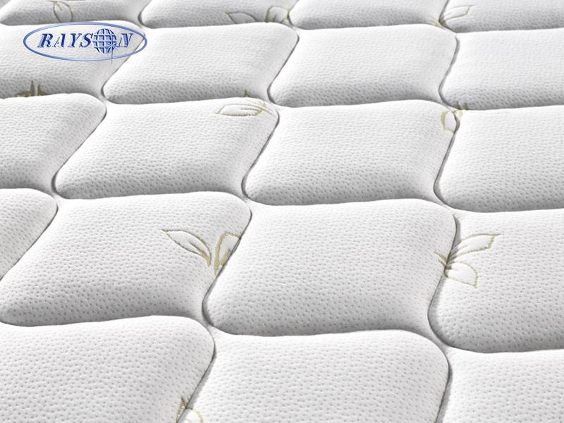 OEM Tight Top Latex Foam Pocket Spring Hybrid Mattress Double Side Use