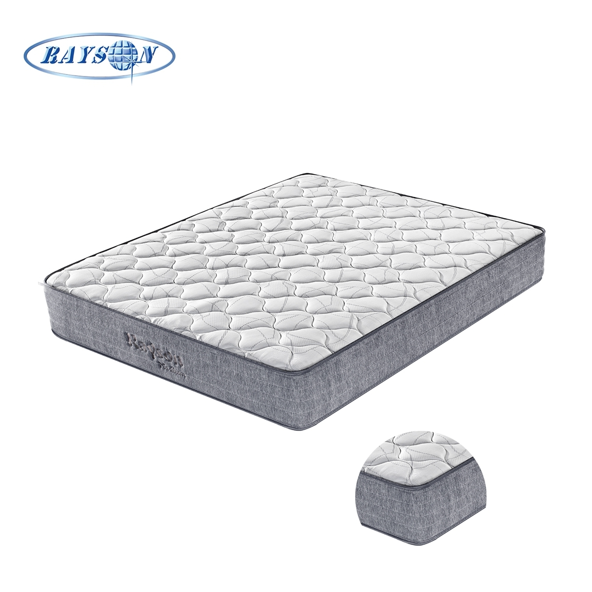 Pocket Spring Sleep Bed Mattresses roll up in a box for bed set