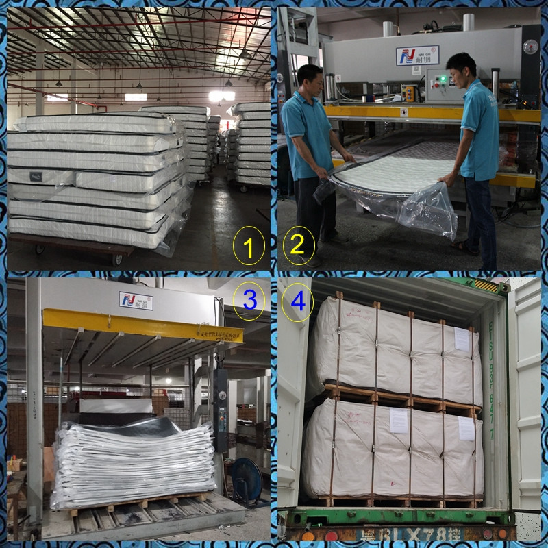 product-China Factory Offer Vaccum Packed Pocket Spring Mattress-Rayson Mattress-img