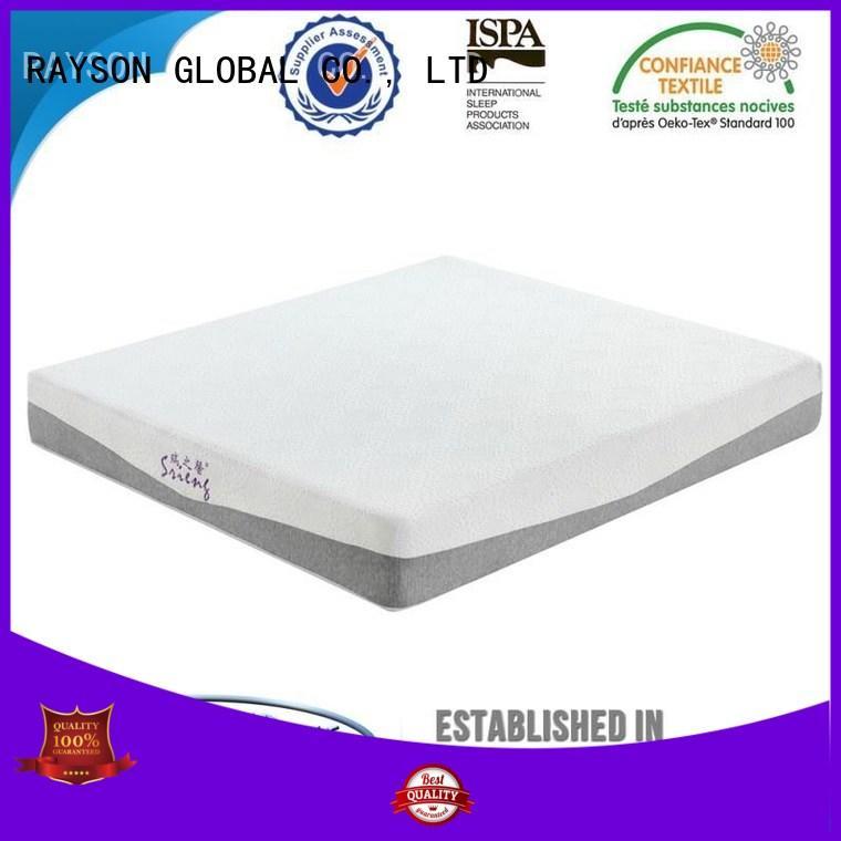 brands narrow Rayson Mattress Brand best quality memory foam mattress