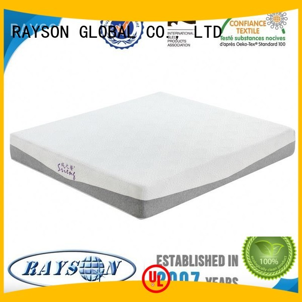 antiacarien memorable ispa Rayson Mattress Brand memory foam mattress and bed