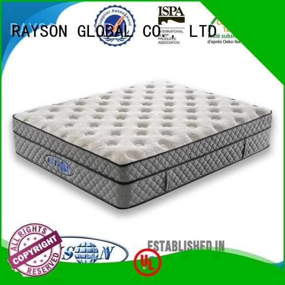 Rayson Mattress Brand alibaba advantage cooling tufted bonnell spring mattress furinno factory