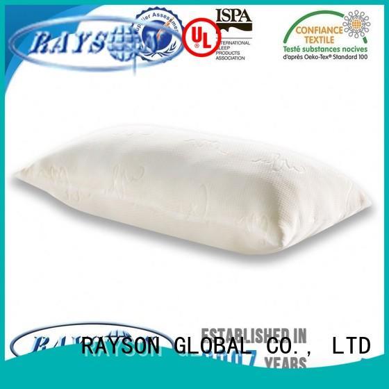 Rayson Mattress Brand importers furniturebedroom renewable cool contour memory foam pillow