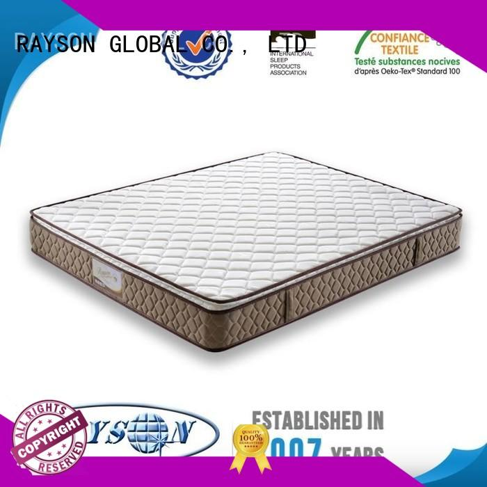 Quality Rayson Mattress Brand pocket springs for sale master pattern