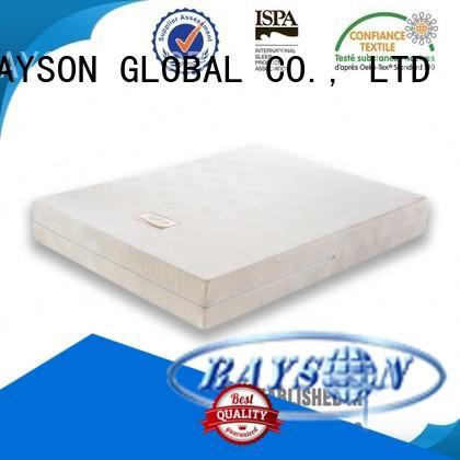 hr base best quality memory foam mattress Rayson Mattress manufacture