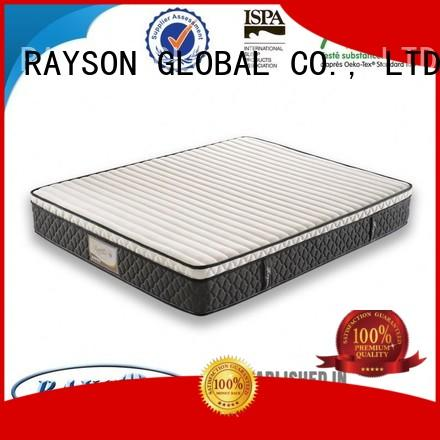 Rayson Mattress Brand certification protection vacuum top 10 pocket sprung mattress