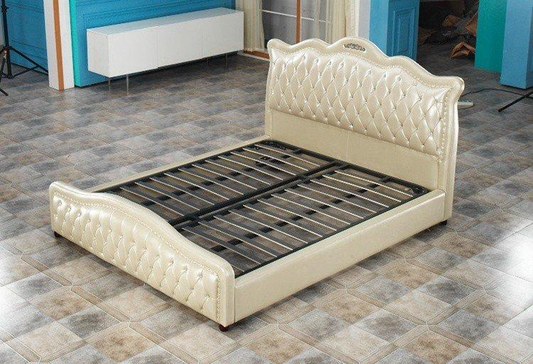 New full size steel bed frame high grade Suppliers-1