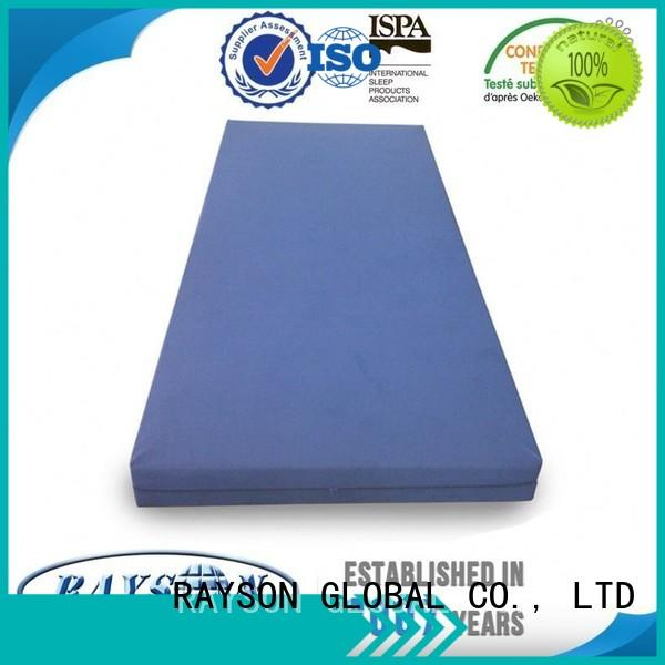 anti heath pack Rayson Mattress Brand flex foam mattress