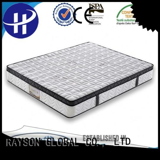 bonnell spring coil eco professional cooling tufted bonnell spring mattress Rayson Mattress Brand
