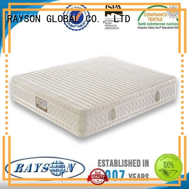 reinforced brand Rayson Mattress Brand pocket springs for sale