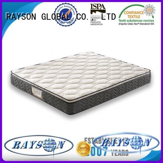 Rayson Mattress Brand quality premium bonnell spring mattress benefits furniturebedroom factory