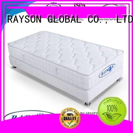 Rayson Mattress plush individual coil spring mattress Supply