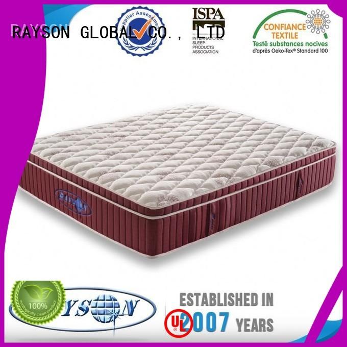 Rayson Mattress Brand board assurance 15 5 star hotel mattress manufacture