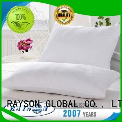 Rayson Mattress high quality natural filled pillows manufacturers
