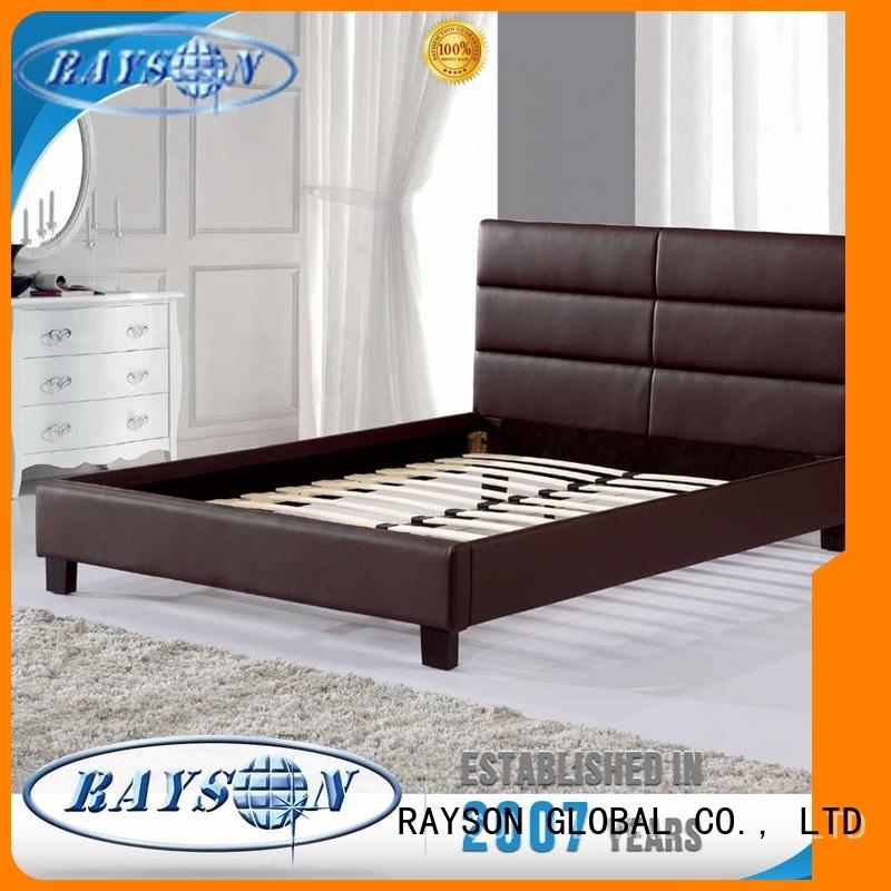 Rayson Mattress Custom king bed frame no headboard Supply