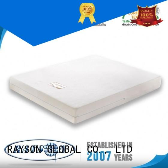 best quality memory foam mattress commercial rebound memory foam mattress and bed usage Rayson Mattress Brand