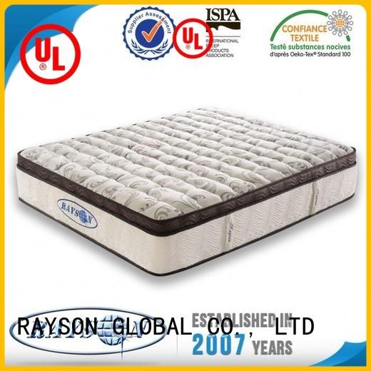 case Custom buckwheat 5 star hotel mattress cotton Rayson Mattress