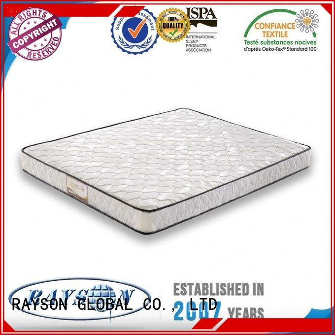 Wholesale elegant 190x90 bonnell spring mattress benefits Rayson Mattress Brand