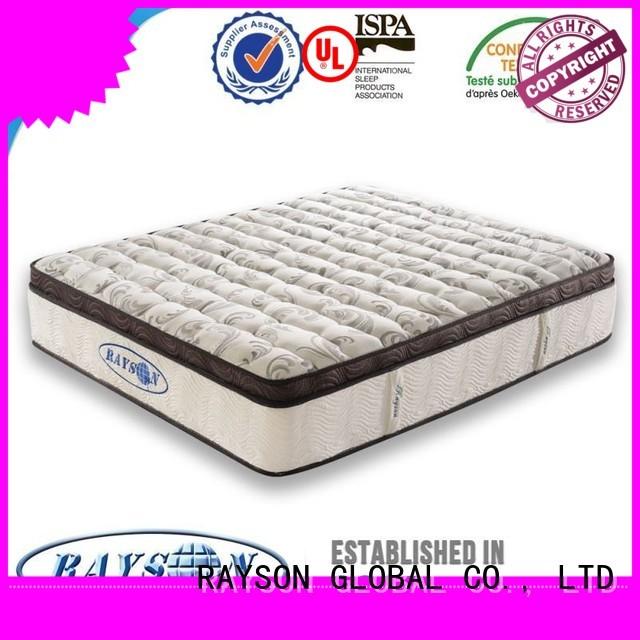 Rayson Mattress Best hotel pillow top mattress pad manufacturers