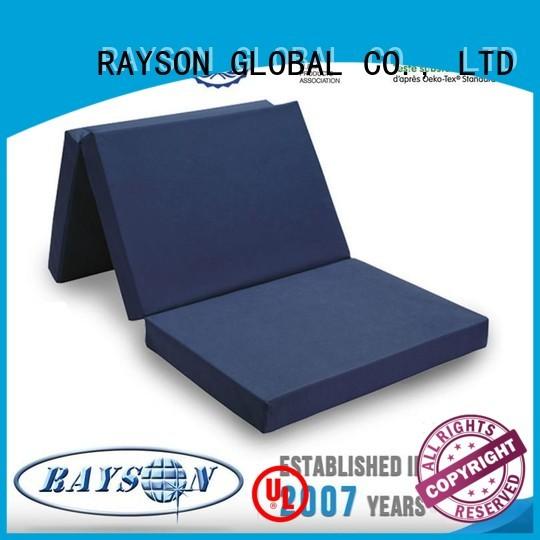 Rayson Mattress Top non toxic memory foam mattress topper Suppliers