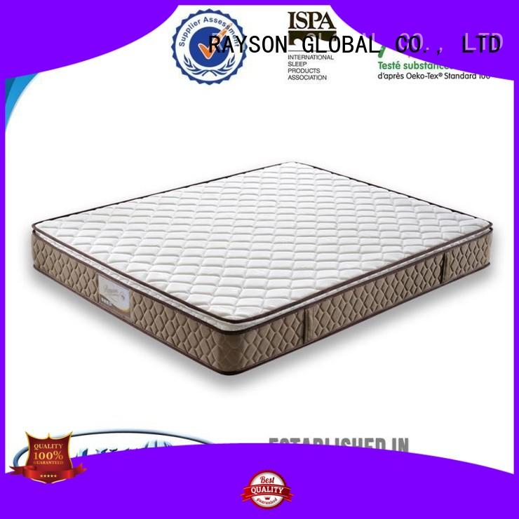 Hot pocket springs for sale printed Rayson Mattress Brand