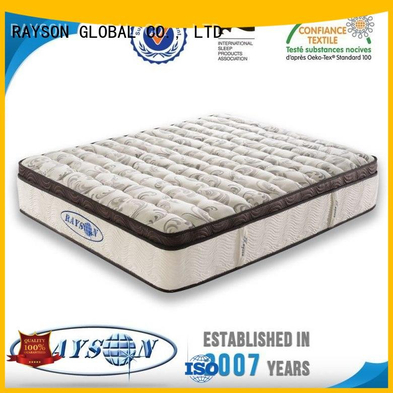 zip distributor selfventilating Rayson Mattress Brand king size pocket mattress factory