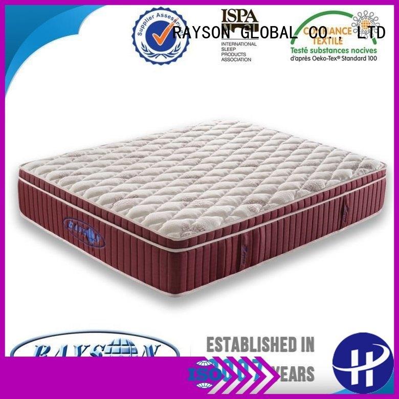 promotions mash europen small 5 star hotel mattress Rayson Mattress
