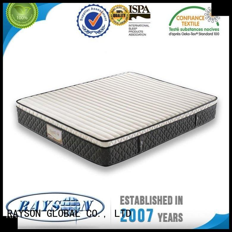 sophisticated selling rubber new pocket sprung mattress Rayson Mattress Brand