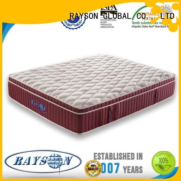 star hotel mattress friendly 120cm egyptian Rayson Mattress Brand company