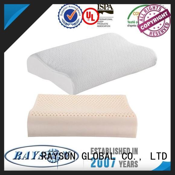 Rayson Mattress Wholesale soft latex foam pillow Suppliers