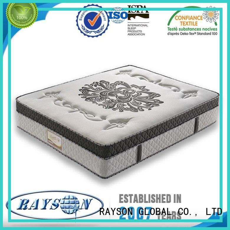 tv high quality 5 star hotel mattress toppers Rayson Mattress
