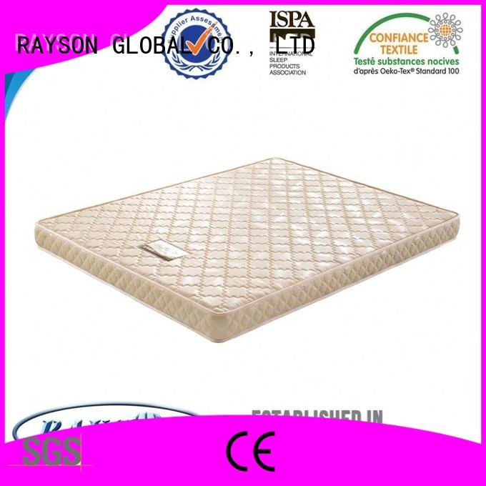 Quality Rayson Mattress Brand poly foam mattress toppers rolled coco