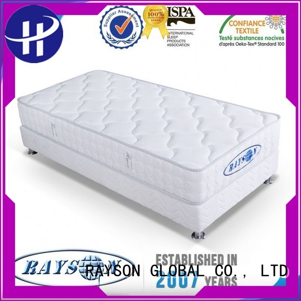 sprung memory foam and coil spring mattresses synthetic zones Rayson Mattress Brand