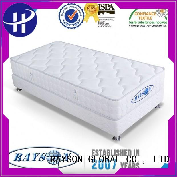 importers green memory foam and coil spring mattresses apartment pillow Rayson Mattress Brand