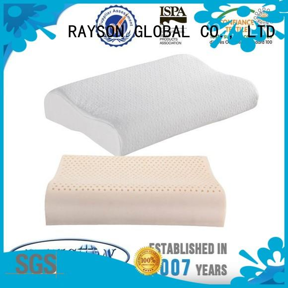 Rayson Mattress high quality queen latex foam pillow Supply