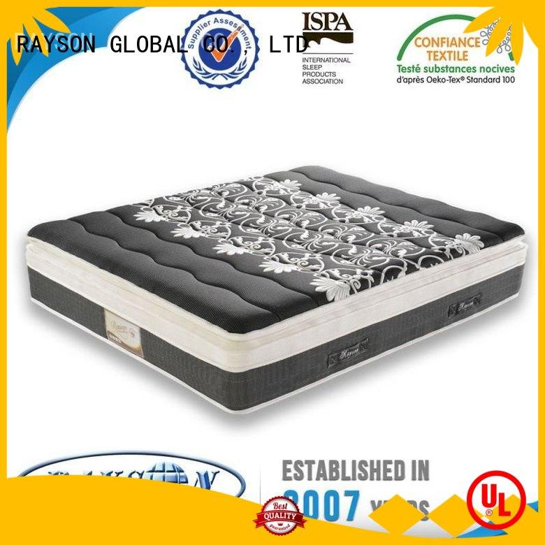 Quality Rayson Mattress Brand nature pocket sprung and foam mattress