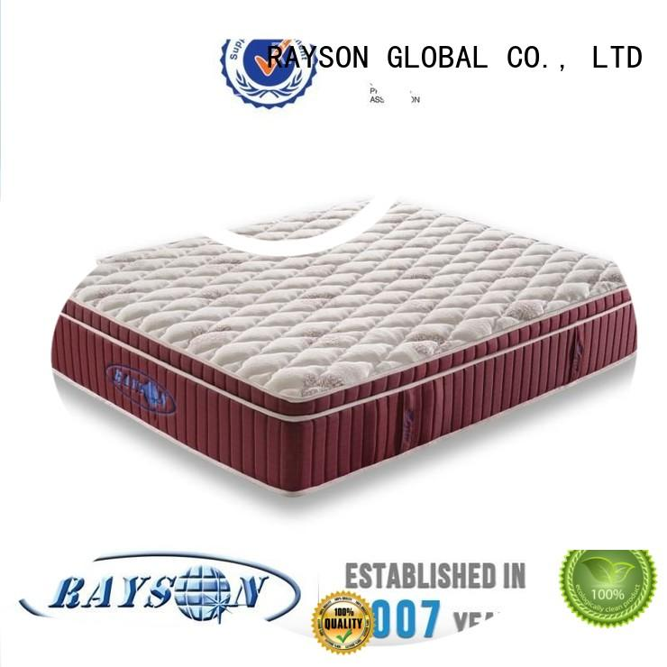product unit resilience pocket sprung and foam mattress Rayson Mattress Brand company