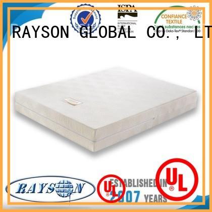 happy classical cotton memory foam mattress and bed therapeutic Rayson Mattress Brand