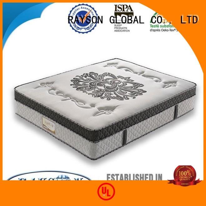 four pocket sprung and foam mattress supplier for house Rayson Mattress
