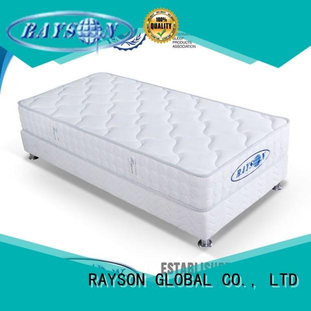 urethane names woven Rayson Mattress Brand continuous spring mattress