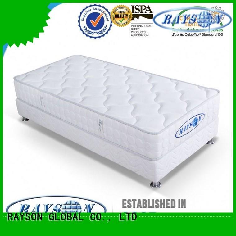 Latest pocket coil memory foam mattress full Supply