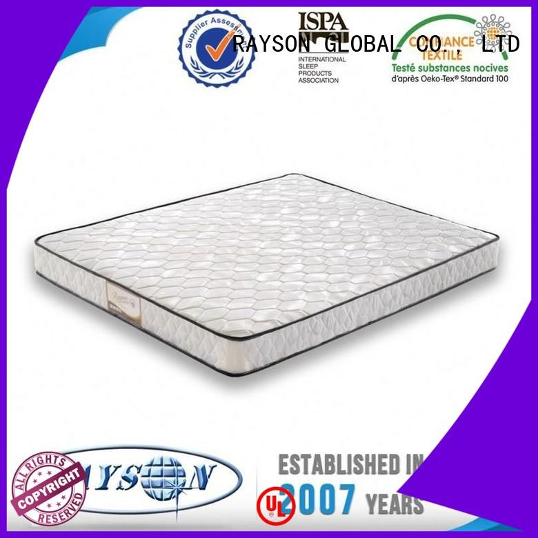 Rayson Mattress high quality Rolled bonnell spring mattress manufacturers
